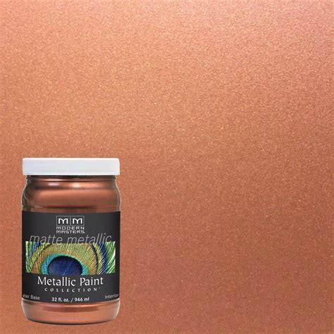 Modern Masters 1 qt. Copper Matte Metallic Interior Paint
