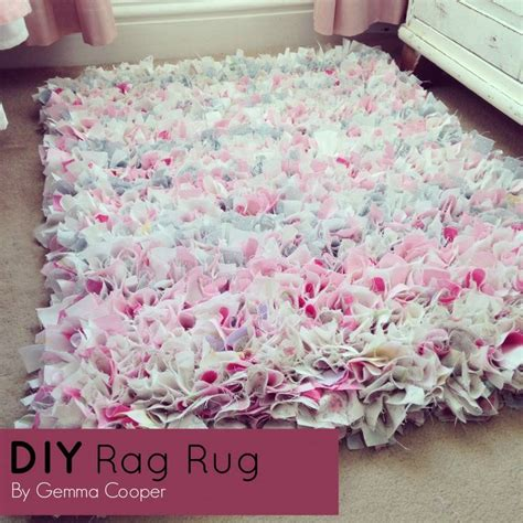 how to make a diy rag rug using bedding summer