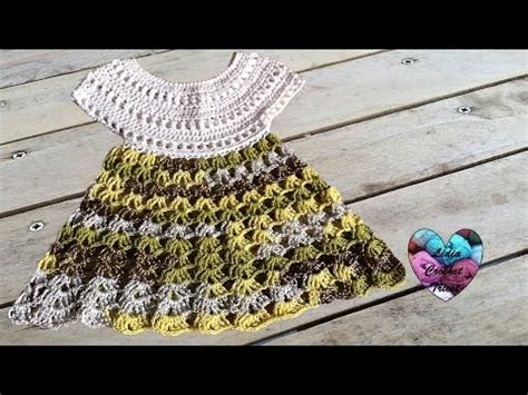 kimono pattern youtube robe crochet bebe 1 2 baby dress crochet 1 2 youtube