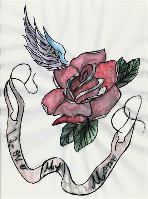 i love my mom tattoo designs i my design by jasperhalegirl on deviantart