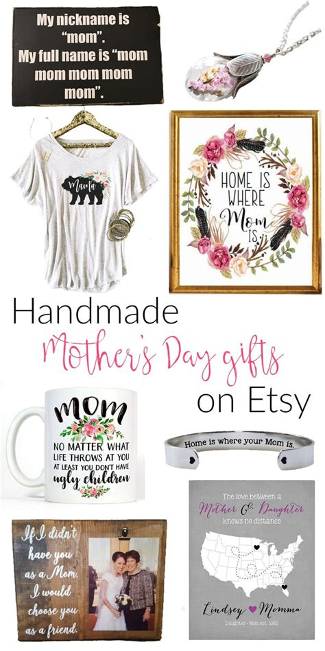 Handmade Mothers Day Gifts - the best handmade s day gifts on etsy