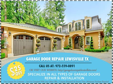 Overhead Door Lewisville Tx Garage Door Repair Lewisville Tx Replacements Opener And