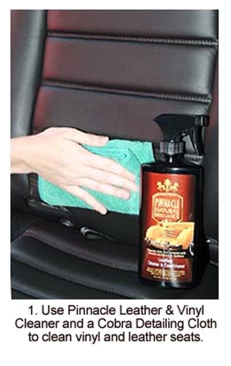 boat seat cleaner and protectant pinnacle leather vinyl cleaner 16 oz car care wax ebay