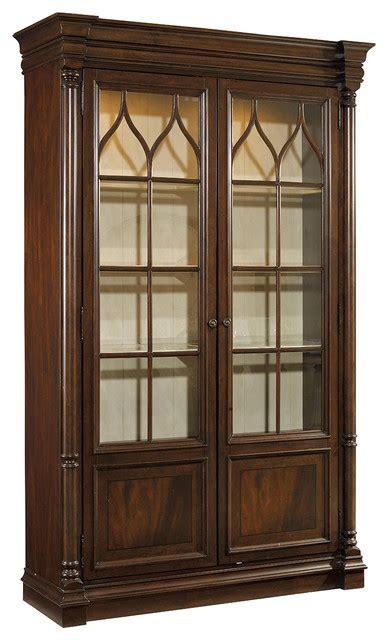 furniture leesburg display cabinet traditional