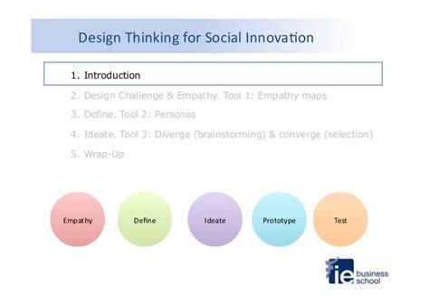 design thinking for social innovation design thinking for social innovation at ie