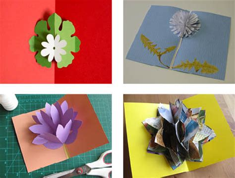 How To Make Pop Up Flowers Card In Paper - mother s day pop up cards 171 helen hiebert studio