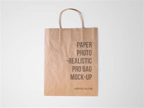 paper bag pattern photoshop paper bag mockup