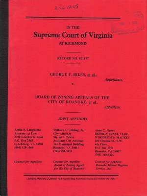 Roanoke Va Court Records Virginia Supreme Court Records Volume 246 Virginia Supreme Court Records