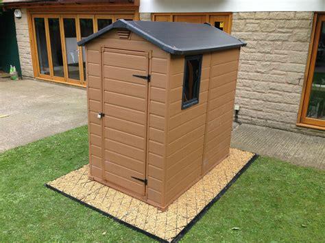 ft driveway grid membrane eco garden shed base kit