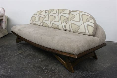 gondola style sofa gondola sofa in the style of adrian pearsall at 1stdibs