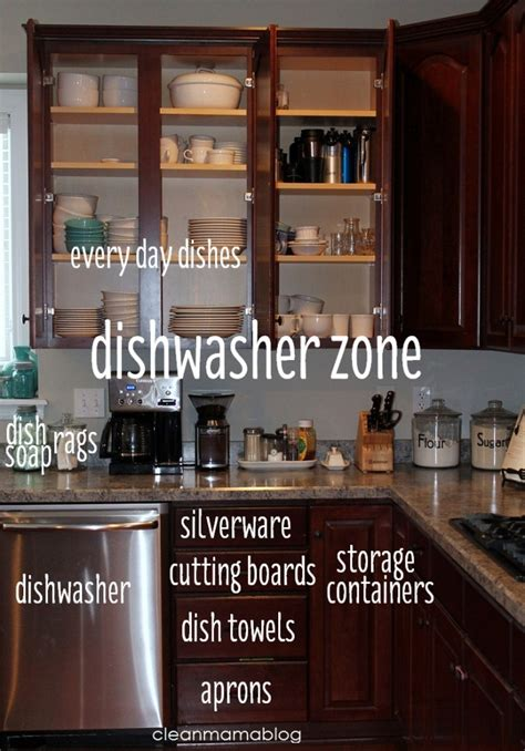 kitchen layout organization kitchen organization create zones clean mama