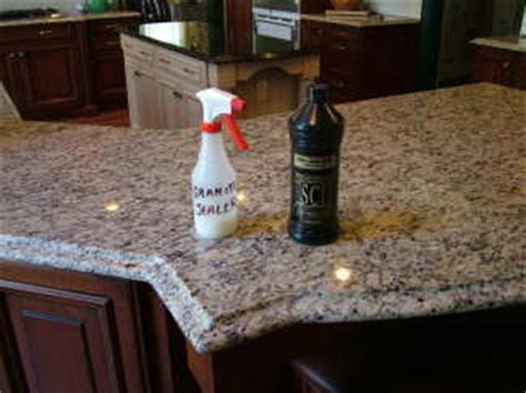 granite sealer ask the builder