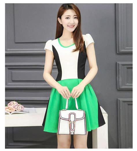 Korea Dress Shania Black Size L korea fashion dress 2018 look thin end 10 3 2018 12 15 pm
