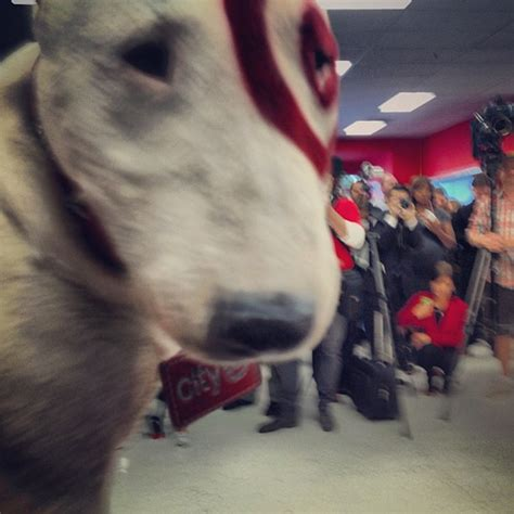 bullseye breed bullseye the target tried to smell me b4 we cut the ribbon for the geary masonic