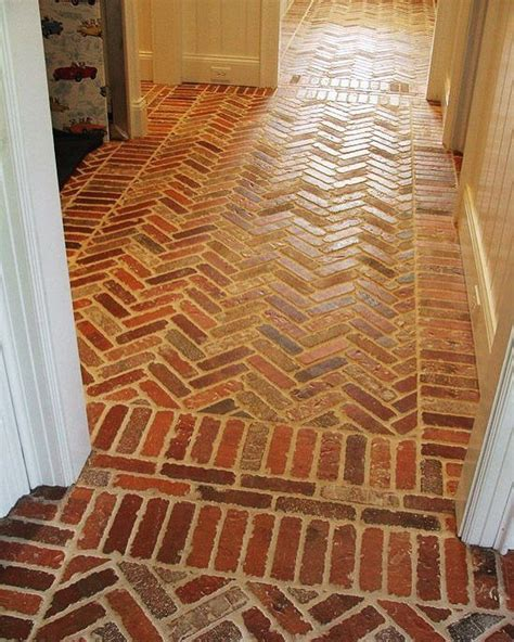 Brick Tile Floor by 25 Best Ideas About Brick Tile Floor On Brick