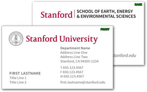 student business card template college and graduate student business cards template