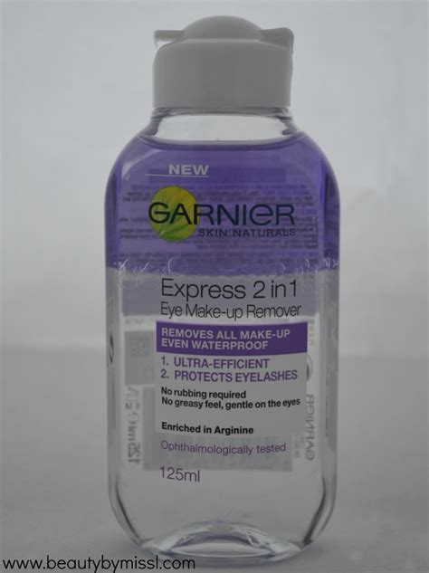 Mizzu Make Up Remover garnier express 2in1 eye makeup remover review by miss l