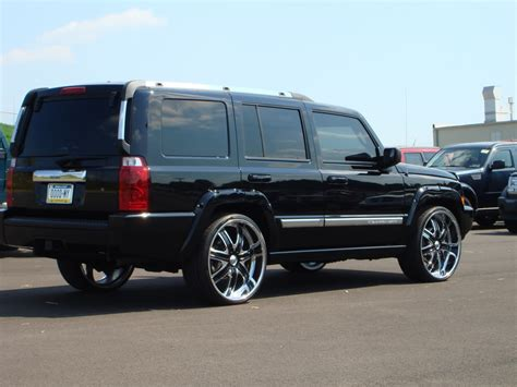 Jeep Commander All Black Jeep Commander 2006 Black Image 266