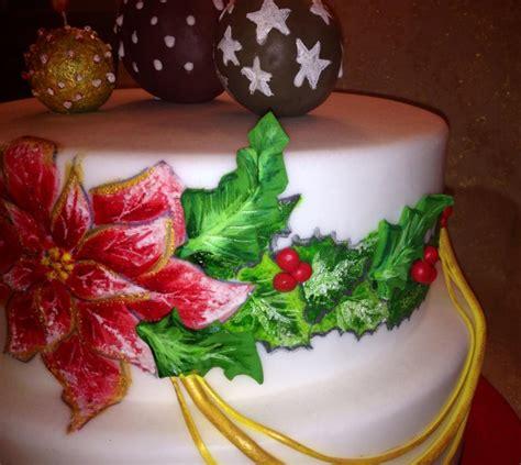 candele torta tutorial dipingere una stella di natale sulla torta