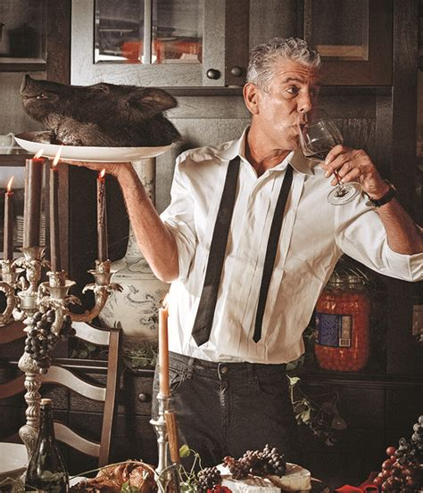 chef confidential an interview with anthony bourdain