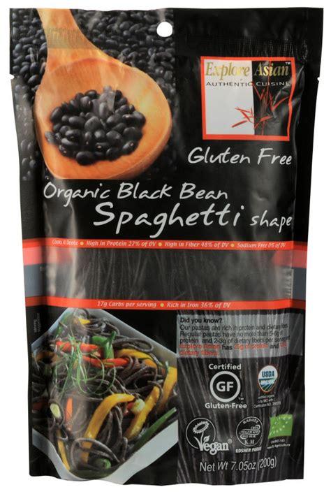 Gluten Free Quinoa Spaghetti 200g explore asian organic black bean spaghetti pasta 200g
