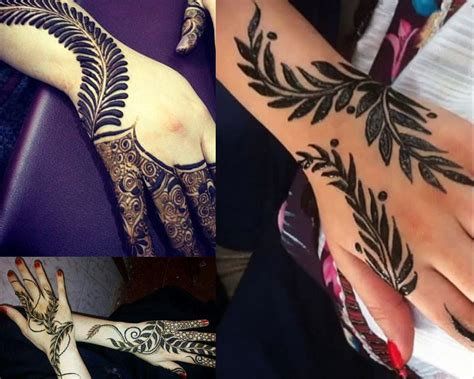 henna design leaves 2017 top 50 simple mehndi designs for hands in different