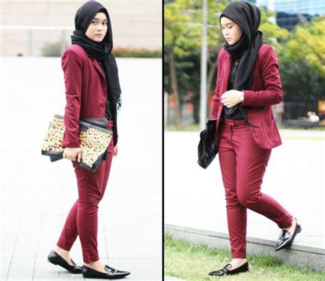 model spatu yg trend untuk berhijab style hijab dengan celana jeans untuk remaja