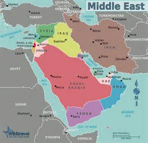 us map of middle east geography questions and answers map