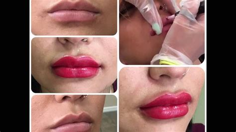 tattooed lips permanent makeup by lilotatt