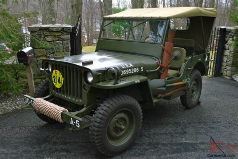 wwii jeep in willys jeep wwii