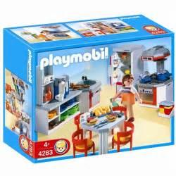 playmobil 4283 cuisine 233 quip 233 e achat vente univers