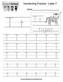 free printable letter t writing practice worksheet for