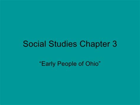 social science 3 8416380228 social studies chapter 3 powerpoint