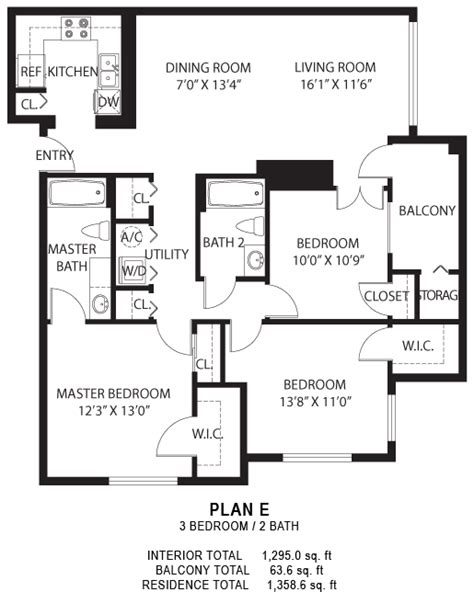 e plans floor plan e the madison at metrowest