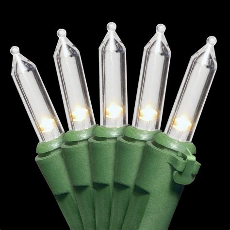 Led Light Bulbs For Table Ls National Tree Company 50 Light Led Soft White Bulb String Light Set Ls 874 50 The Home Depot