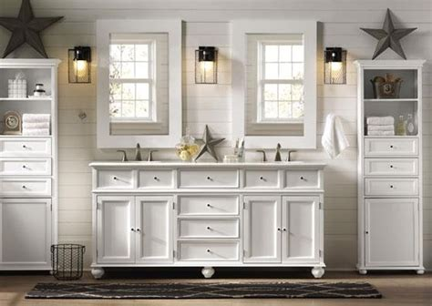 country style bathroom cabinets sink with framed mirror decolover net