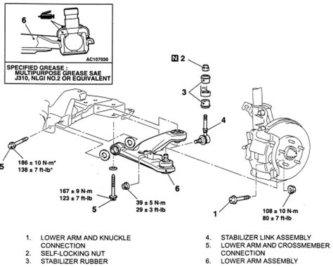 remove the seat and spring northwest edge repair guides front suspension lower control arms