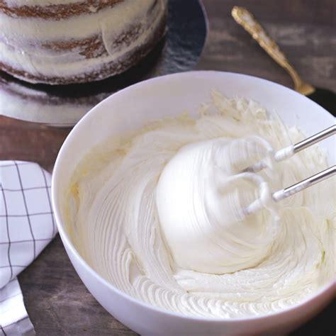 White Chocolate Buttercream Recipe   Grace Parisi   Food