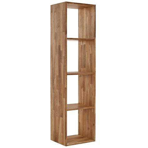 Shelf With Storage by Solid Oak Shelf Storage Box Shelves Display Shelving Unit