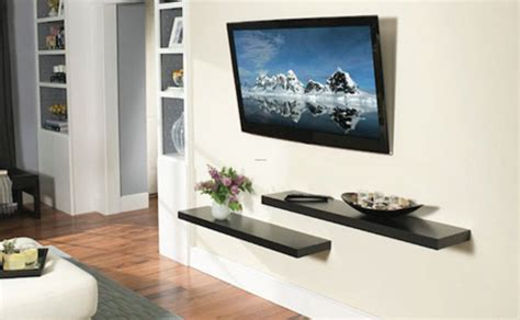 tv wall ideas wall hanging pooja shelves joy studio design gallery