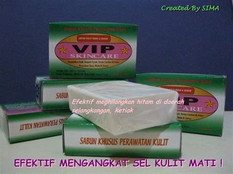 Sabun Vip Skin Care my journey sabun vip