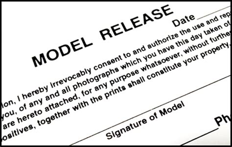 Release Letter Model Model Releases What You Need To With Sles