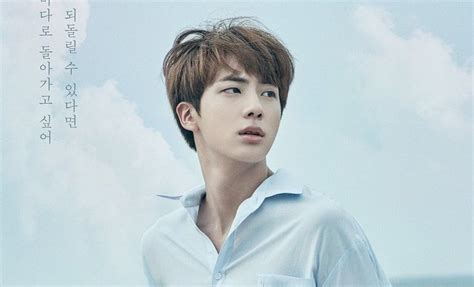 bts jin update bts shares new poster of jin for upcoming quot love