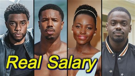 actor in youtube real salary of black panther actors youtube
