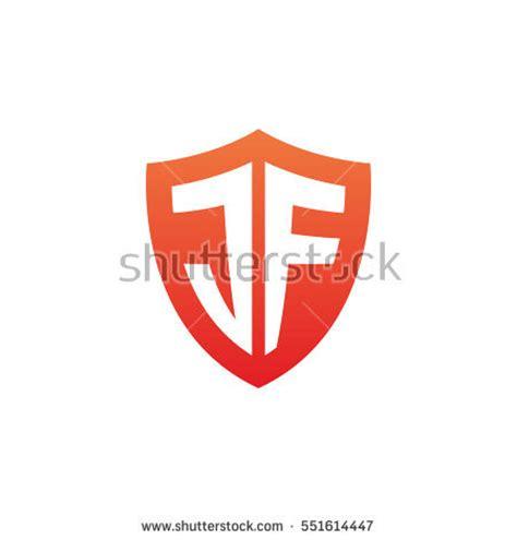 Cp Logo Black Aj initial letters jc shield shape stock vector 551614462