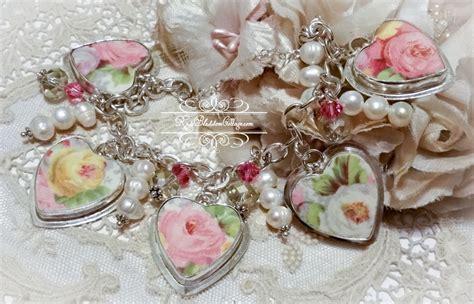 how to make broken china jewelry broken china jewelry charm bracelet