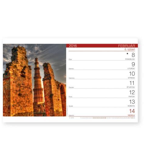 Table Calendar 2016 Table Calendar Svet Sk 2016