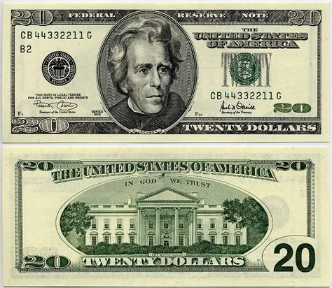 printable fake money pdf displaying 20 gallery images for 20 dollar bill front