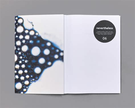 design inspirations nevertheless magazine the book design blog