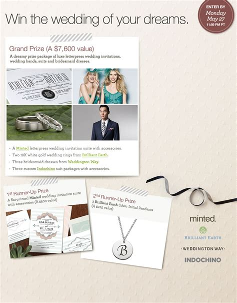 Wedding Ring Giveaway - win massive wedding giveaway package including rings stationery and more wedding
